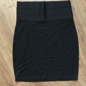 MAX STUDIO | Black Skirt